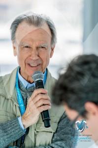 Alfieri Maserati, parrain de l'événement de SJCF Légendes 2015 en présence de Marc Gallon l'organistateur à Saint-Jean-Cap-Légendes édition 2015