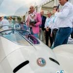 Lauréat en Concours d'élégance – Grand Prix d'Excellence pour l'Alfa Romeo 6C 1750GS Aprile à Saint-Jean-Cap-Légendes édition 2015