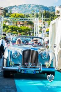 Défilé de la Bentley Continental S1 à Saint-Jean-Cap-Légendes édition 2015 - Concours et Exposition de voitures de collection