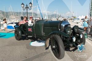 Bentley Le Mans de 1929 à Saint-Jean-Cap-Légendes édition 2015 - Concours d'élégance en Automobile - 1920 à 1944