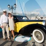 Saint-Jean-Cap-Légendes édition 2015 - Concours d'élégance en Automobile - 1920 à 1944 - avec la Bugatti Delahaye 57C Atalante de 1938