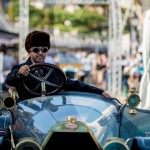 Défilé de la rare Bugatti Type 13 de 1911 à Saint-Jean-Cap-Légendes édition 2015 - Concours et Exposition de voitures de collection