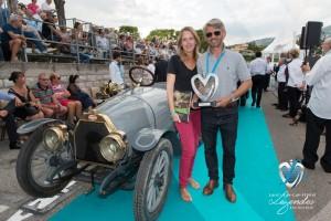 Lauréat en Concours d'élégance – 1900 - 1919 - la Bugatti Type 13 de 1911 à Saint-Jean-Cap-Légendes édition 2015