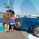 Bugatti Type 43 Grand Sport à Saint-Jean-Cap-Légendes édition 2015 - Concours d'élégance en Automobile - 1920 à 1944
