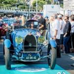 Défilé de la Bugatti Type 43 Grand Sport à Saint-Jean-Cap-Légendes édition 2015 - Concours et Exposition de voitures de collection