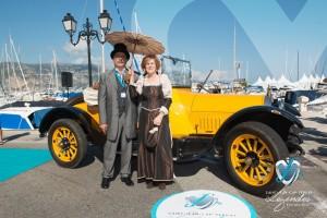 Buick D44 de 1916 à Saint-Jean-Cap-Légendes édition 2015 - Concours d'élégance en Automobile - 1900 à 1919