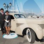 Cord 912 Coupé de 1936 à Saint-Jean-Cap-Légendes édition 2015 - Concours d'élégance en Automobile - 1920 à 1944