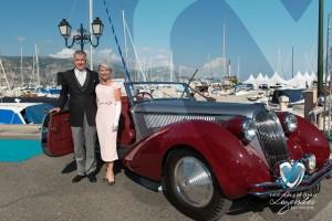 Delahaye 135M Figoni & Falaschi de 1946 à Saint-Jean-Cap-Légendes édition 2015 - Concours d'élégance en Automobile - 1945 à 1975