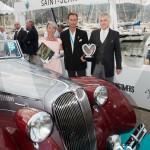 Lauréat en Concours d'élégance – 1945 - 1975 pour la Delahaye 135M Figoni & Falaschi de 1946 à Saint-Jean-Cap-Légendes édition 2015