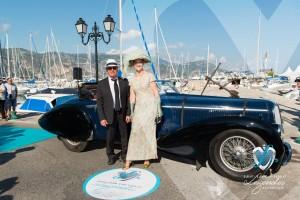 Delahaye 135M Pourtout de 1937 à Saint-Jean-Cap-Légendes édition 2015 - Concours d'élégance en Automobile - 1920 à 1944