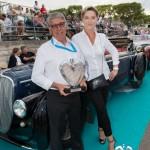 Lauréat en Concours d'élégance – 1920 - 1944 pour la Delahaye 135M Pourtout de 1937 à Saint-Jean-Cap-Légendes édition 2015
