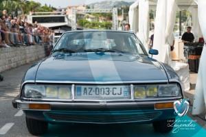 Défilé de la Citroen SM de 1973 à Saint-Jean-Cap-Légendes édition 2015 - Concours et Exposition de voitures de collection