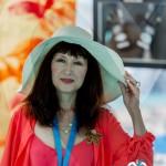 Exposition de l'artiste peintre Yoko Grandsagne à Saint-Jean-Cap-Légendes édition 2015