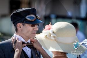 Préparation au défilé du Concours d'élégance à Saint-Jean-Cap-Légendes édition 2015 - Concours et Exposition de voitures de collection
