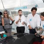 Lauréat en Concours d'état – Catégorie Classique pour la BMW 507 Roadster de 1957 remis par Marc Gallon, organisateur de Saint-Jean-Cap-Légendes édition 2015