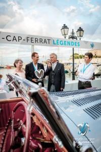 Lauréat en Concours d'élégance – 1945 - 1975 pour la Delahaye 135M Figoni & Falaschi de 1946 remis par  Jean-Philippe Secordel Martin