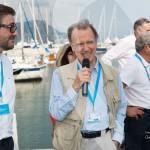 Présentation du 1er Concours Youngtimers sous le haut patronage de Valy Giron, Président de la FFVE avec Matthieu Lamoure et Alfieri Maserati