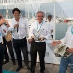 Remise des prix du premier Concours Youngtimers avec le président de la F.F.V.E. Valy Giron pour la catégorie Routières et Sportives