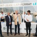 Remise du prix du Grand Prix du Public par Jean-François Dieterich, Marc Gallon et le duo de speaker Matthieu Lamoure & Pierre Novikoff