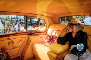Rolls Royce Silver Wraith de 1957 à l'intérieur exclusif Hermès - Prix Special de l'élégance à Saint-Jean-Cap-Légendes édition 2015