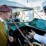 Présentation de la F.A.S. Standard Unico avec Pierre Novikoff à Saint-Jean-Cap-Légendes édition 2015 - Concours et Exposition de voitures de collection