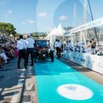 Présentation de la Fiat Tipo Zero à Saint-Jean-Cap-Légendes édition 2015 - Concours et Exposition de voitures de collection