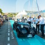 Défilé de la Lancia Aprila Balbo à Saint-Jean-Cap-Légendes édition 2015 - Concours et Exposition de voitures de collection