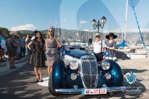 Lancia Astura Cabriolet PininFarina de 1937 à Saint-Jean-Cap-Légendes édition 2015 - Concours d'élégance en Automobile - 1920 à 1944