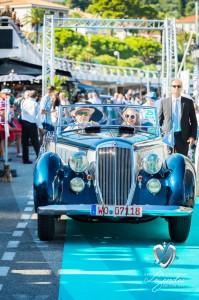 Défilé de la Lancia Astura PininFarina à Saint-Jean-Cap-Légendes édition 2015 - Concours et Exposition de voitures de collection