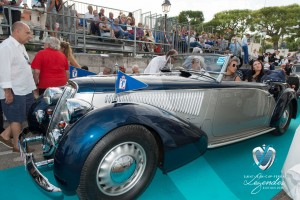 Lauréat en Concours d'état – Catégorie Sport pour la Lancia Astura Cabriolet PininFarina de 1937 à Saint-Jean-Cap-Légendes édition 2015