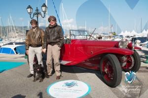 Lancia Lambda Spyder de 1926 à Saint-Jean-Cap-Légendes édition 2015 - Concours d'élégance en Automobile - 1920 à 1944