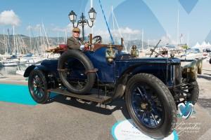 Panhard Grand Prix de 1908 à Saint-Jean-Cap-Légendes édition 2015 - Concours d'élégance en Automobile - 1900 à 1919