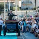Présentation de la Panhard Grand Prix à Saint-Jean-Cap-Légendes édition 2015 - Concours et Exposition de voitures de collection