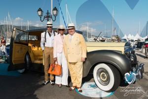 """Rolls Royce Silver Wraith """"Pupy"""" de 1957 à Saint-Jean-Cap-Légendes édition 2015 - Concours d'élégance en Automobile - 1945 à 1975"""