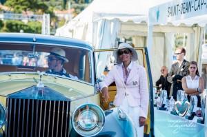 Rolls Royce Silver Wraith de 1957 à Saint-Jean-Cap-Légendes édition 2015 - Concours et Exposition de voitures de collection