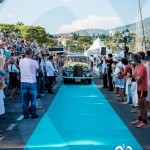 L'arrivée de la Rolls Royce Silver Wraith de 1957 à Saint-Jean-Cap-Légendes édition 2015 - Concours et Exposition de voitures de collection