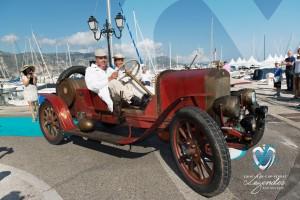 S.P.A Tipo 25/30 hp de 1910 à Saint-Jean-Cap-Légendes édition 2015 - Concours d'élégance en Automobile - 1900 à 1919