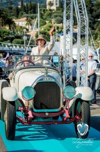 Défilé de la Talbot Darracq V15 à Saint-Jean-Cap-Légendes édition 2015 - Concours et Exposition de voitures de collection