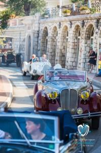 Défilé des véhicules de collection à Saint-Jean-Cap-Légendes édition 2015 - Concours d'élégance & Exposition Automobile