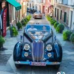 Défilé des voitures de collection avec la Lancia Astura Cabriolet - 1937 et la Delahaye 135M Figoni&Falaschi – 1946 à Saint-Jean-Cap-Légendes édition 2015
