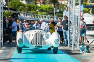 L'Alfa Romeo 6C 1750 GS Aprile de 1931 de Corrado Lopresto à Saint-Jean-Cap-Légendes édition 2015 - Concours et Exposition de voitures de collection