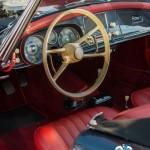 L'élégance jusqu'à intérieur de la BMW 507 Roadster de 1957 à Saint-Jean-Cap-Légendes édition 2015 - Concours d'état