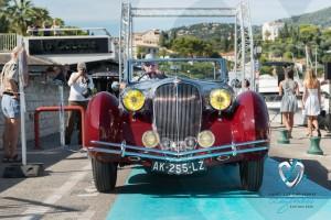 Défilé de la Delahaye 135M Figoni et Falaschi à Saint-Jean-Cap-Légendes édition 2015 – Concours d'état