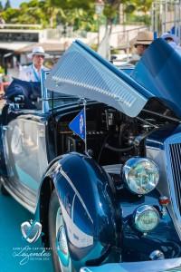 Lancia Astura Cabriolet Pinin Farina de 1937 à Saint-Jean-Cap-Légendes édition 2015 – Concours d'état