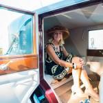 L'élégance à bord de la Rolls Royce Phantom I de 1927 à Saint-Jean-Cap-Légendes édition 2015 – Concours d'état