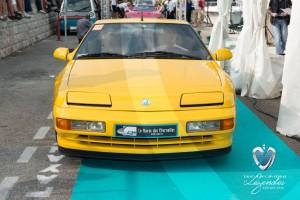 Défilé de l'Alpine A610 Tubro de 1994 à Saint-Jean-Cap-Légendes édition 2015 - Concours Youngtimers