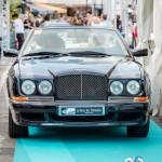 Défilé de la Bentley Azure Cabriolet de 1998 à Saint-Jean-Cap-Légendes édition 2015 - Concours Youngtimers