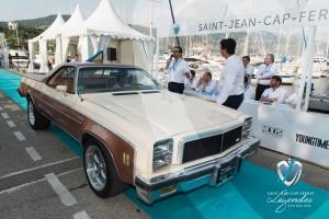 La Chevrolet El Camino à Saint-Jean-Cap-Légendes édition 2015 pendant le concours Youngtimers