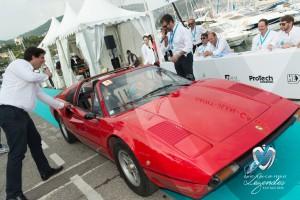 Défilé de la Ferrari 308 GTS de 1985 à Saint-Jean-Cap-Légendes édition 2015 - Concours Youngtimers