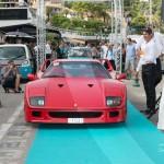 Défilé de la Ferrari F40 de 1988 à Saint-Jean-Cap-Légendes édition 2015 - Concours Youngtimers